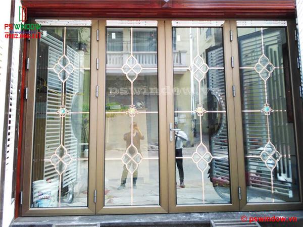 Cửa nhôm cầu cách nhiệt JMA tại KĐT Phú Lương, Hà Đông, Hà Nội