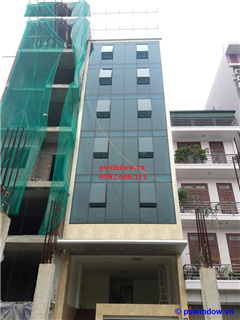 Hệ vách kính mặt dựng - Nguyễn Văn Lộc
