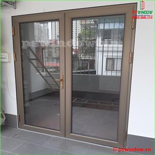 Lắp đặt cửa nhôm cầu cách nhiệt JMA - Hoàng Mai, Hà Nội