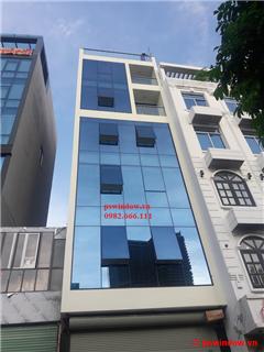 Hệ vách kính mặt dựng - 35 Nguyễn Văn Huyên