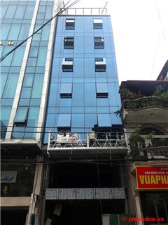 Hệ vách kính mặt dựng - 257 Hoàng Văn Thái