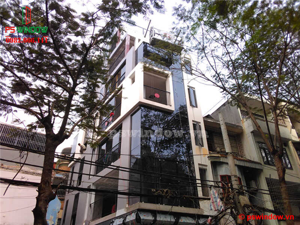 Lắp đặt cửa nhôm Xingfa tại Hồng Mai, Hoàng Mai, Hà Nội