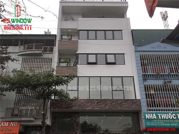 Lắp đặt cửa nhôm Xingfa tại Thịnh Liệt, Hoàng Mai