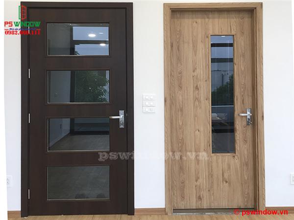 Mẫu cửa gỗ nhựa composite đẹp, sang trọng nhất 2020