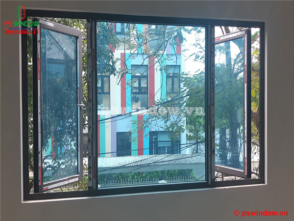 Cửa sổ mở quay nhôm Xingfa