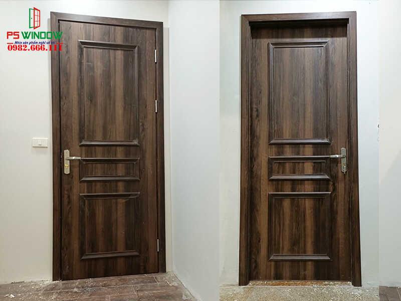 Cửa nhựa giả gỗ Composite phù hợp với mọi không gian