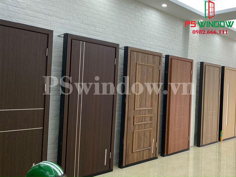 Cửa gỗ nhựa Composite với đa dạng mẫu mã