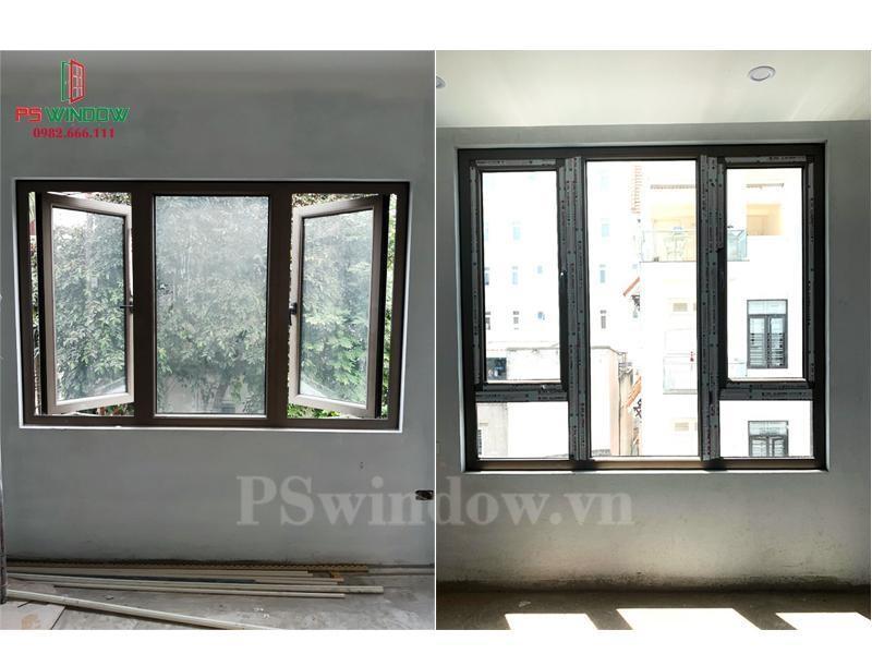Mẫu cửa sổ nhôm cầu JMA cách nhiệt